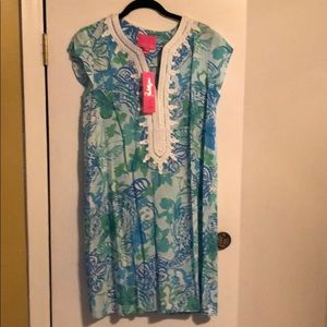 Lilly Pulitzer NWT short sleeve dress size med
